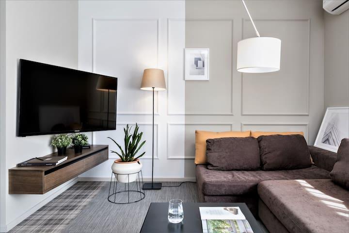 Stylish 1 Bedroom apartment