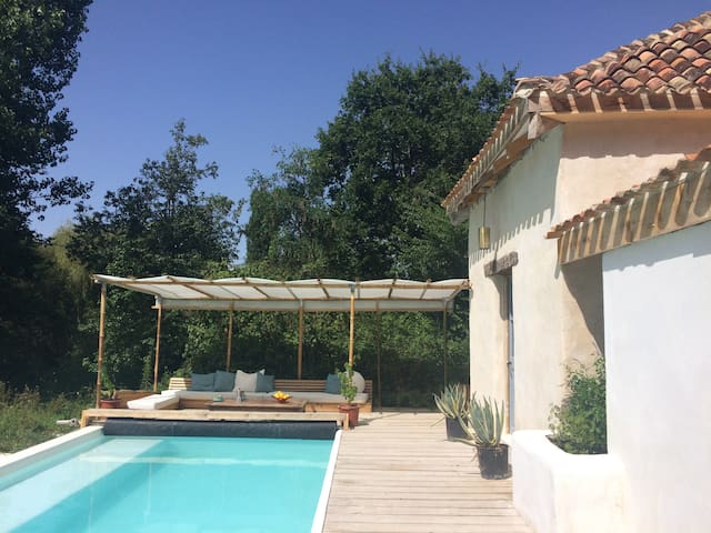 A private pool with cosy tower that sleeps 2. - Saint-Antoine-Cumond - Andre