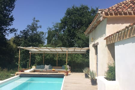 A private pool with cosy tower that sleeps 2. - Saint-Antoine-Cumond