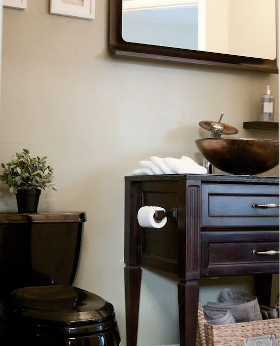 Top quality bathrooms.