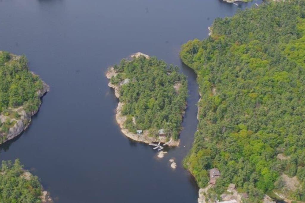 Large 3.5 acre Private Island