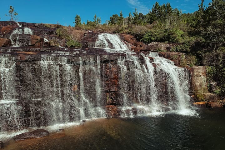 Campos Floridos, cachoeiras e canions- Arapoti II