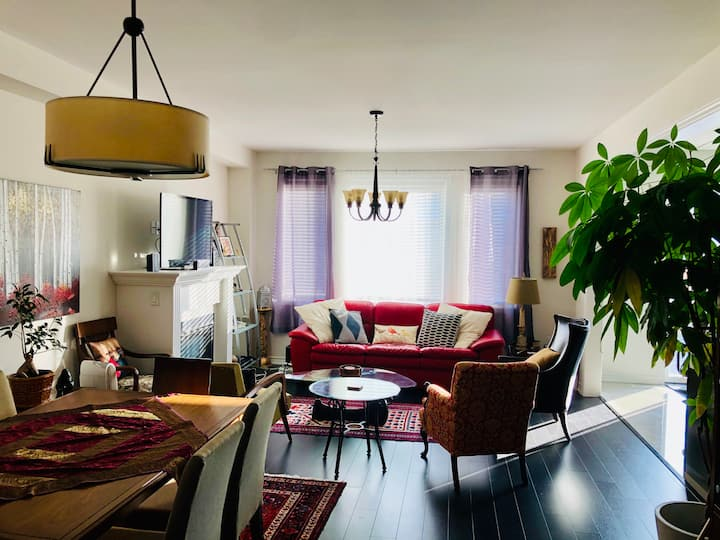 Beautiful 3 Bedroom House near Ravine Winery