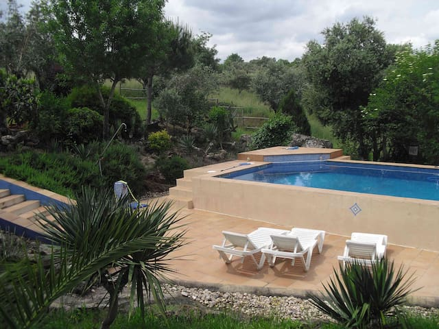 rustic guest house, pool and garden - Evora - House