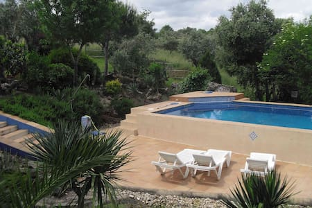 rustic guest house, pool and garden - Evora - Haus
