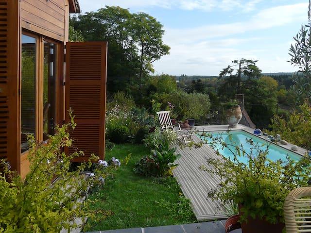 Maisons de Vignerons, piscine privée, vue sur Cher