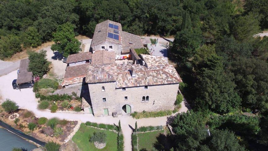 Gîte à la ferme dans un authentique mas cévenol - Quissac - Doğa içinde pansiyon
