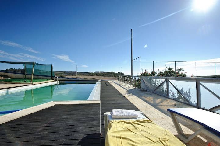 Riding Ribeira D´Ilhas beach 800m b - Ericeira - Villa