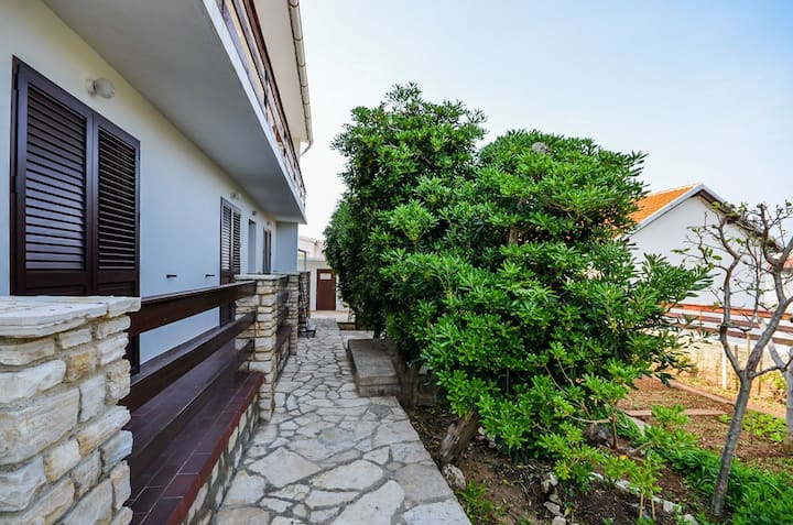 Two Bedroom Apartment, in Pag - island Pag, Balcony