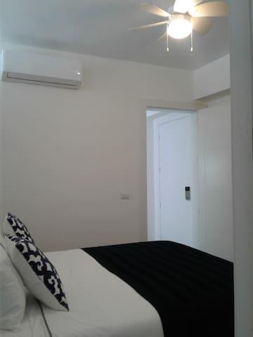 Bedroom AC & Ceiling Fan