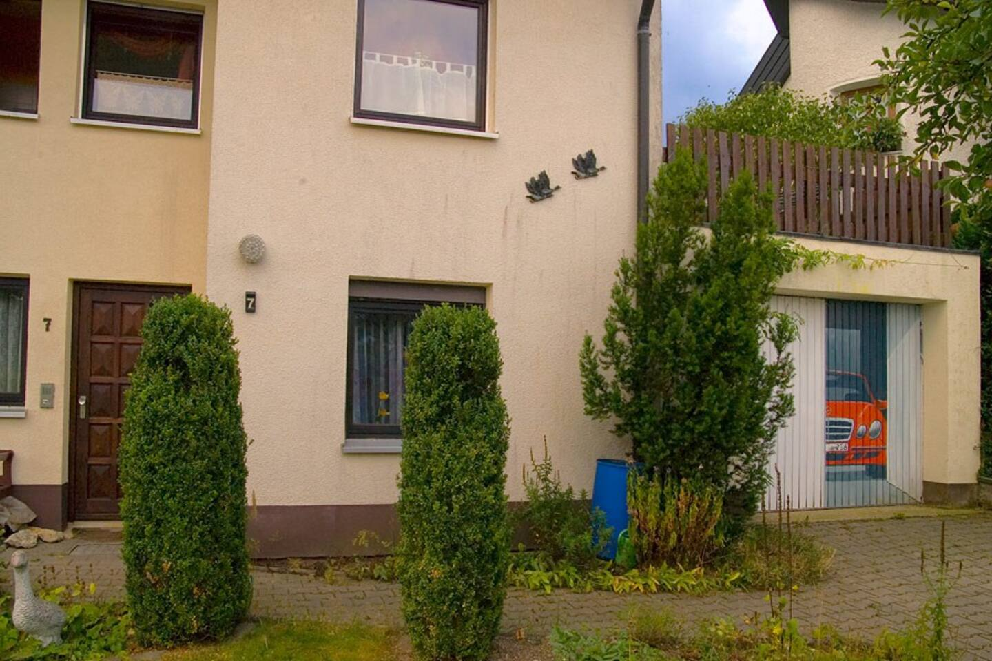 privat house with place for four