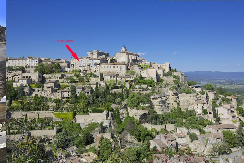 Inside Gordes Provence Luberon Serviced Apartments For