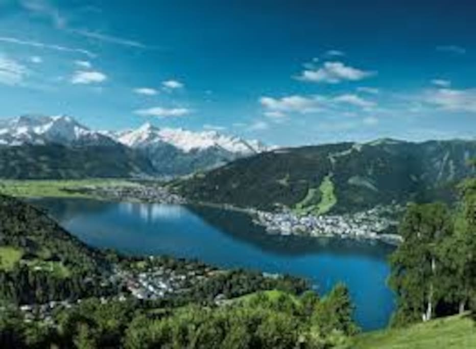 Zell am See - the lake