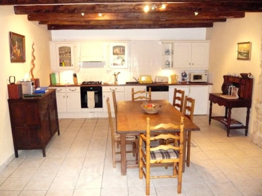 The Kitchen / dining room.