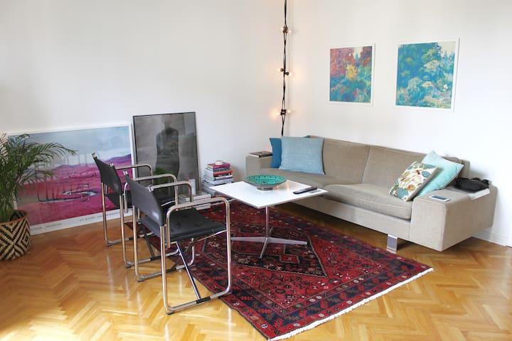 Ljus och fin 2:a med solig balkong och parkering - Gøteborg