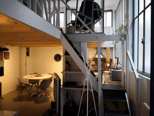 Atelier d'artiste paris 18ème