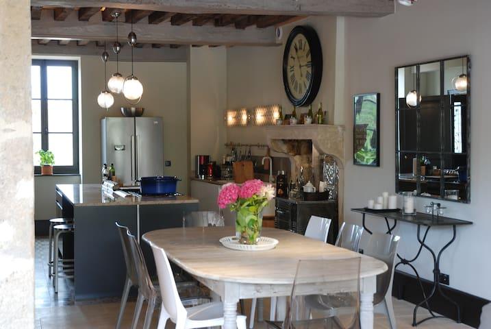 La Maison de Meloisey - Piscine Beaune - Bourgogne - Meloisey - Rumah