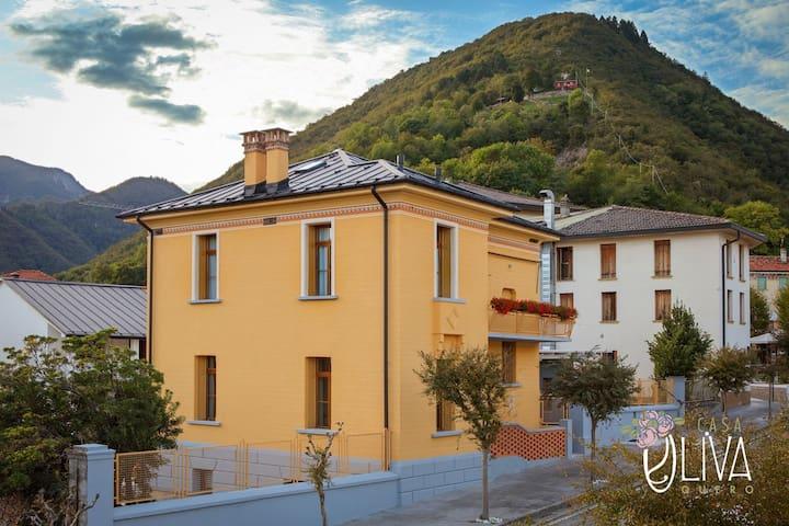 Casa Oliva Quero, architettura dell'ospitalità.