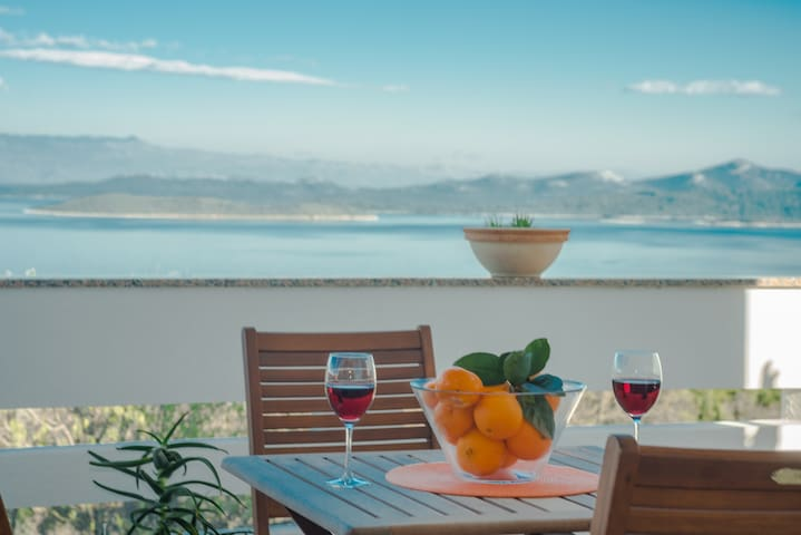Holiday house on Dugi Otok with amazing sea view