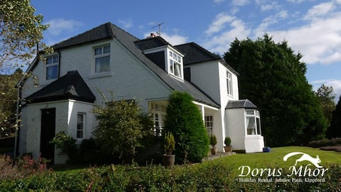 Kippford home with stunning views
