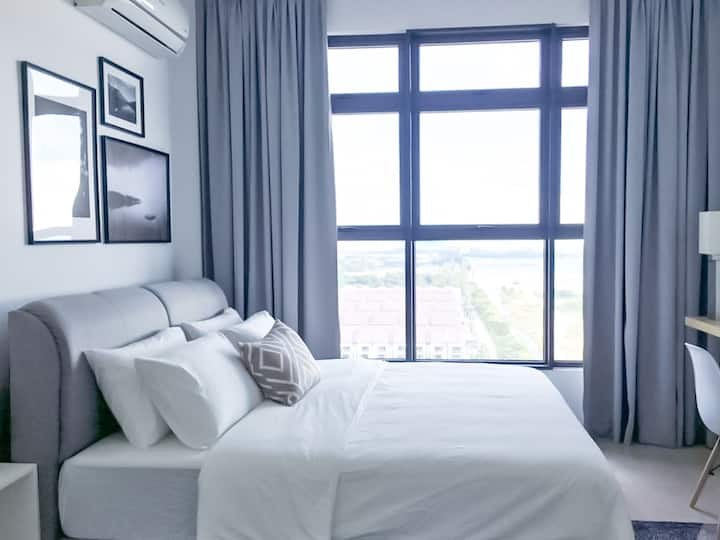 Stylish Family Suite @ Melaka monochrome.atlantis
