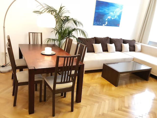 Beautiful Bright Vienna City Appartment, Central