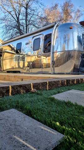 Glamping Hub in Airstream Alley located Downtown