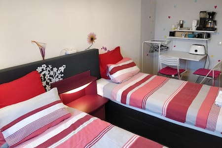 Free parking,canal view, room fully equipped