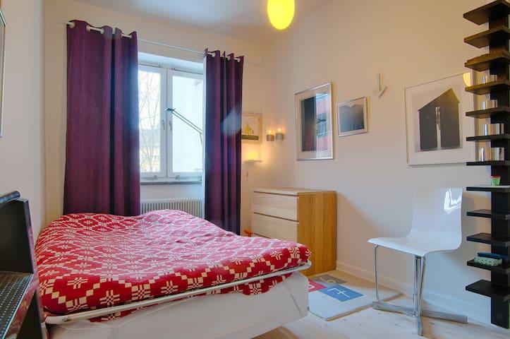 Cosy designer 2 bedroom flat. - Stokholm