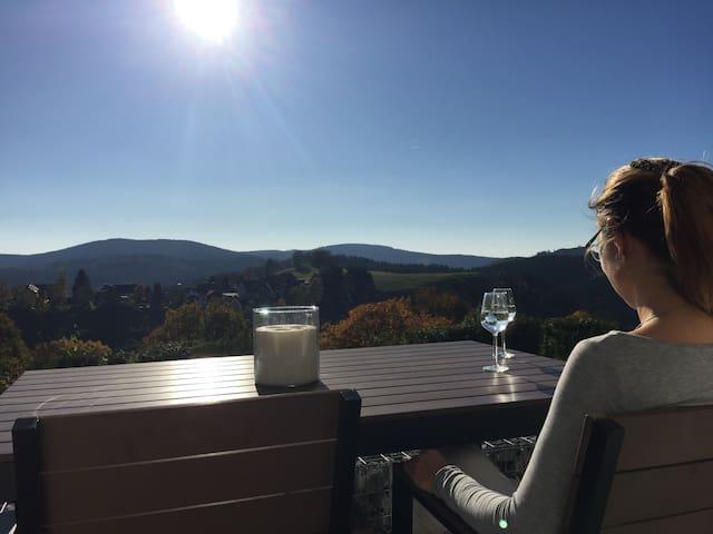FeWo Selina max 5 Gäste mit Terrasse und Kamin
