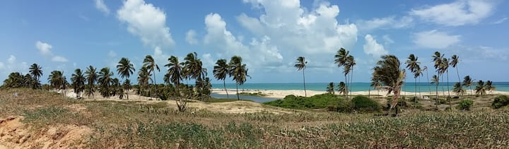 """Casa em Praia de Caraúbas (""""casa da Capoeira'"""")"""