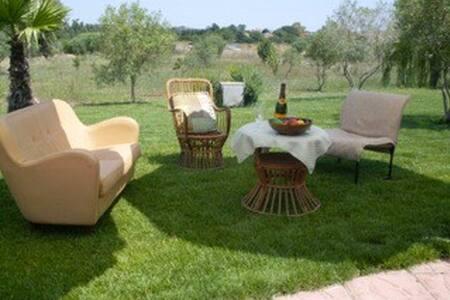 Olmedo, Villa Kalos per 8 persone con giardino - Olmedo - 獨棟