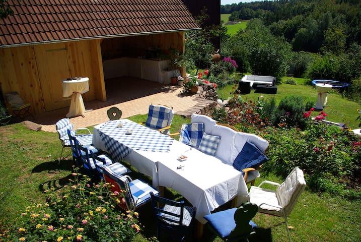 Ferienhaus Villa Thea in der Rhön - für 2-4, max 8 - Sandberg - Talo