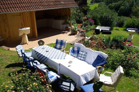 Ferienhaus Villa Thea in der Rhön - für 2-4, max 8 - Sandberg - 独立屋