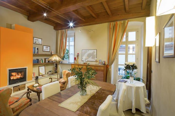 Romantica, funzionale camera in B&B - Saluzzo - Bed & Breakfast