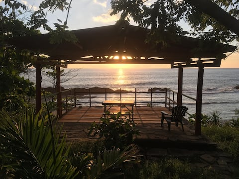 Front beach house in Nicaraguan Pacific Coast
