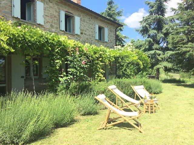 Casa del Lago, Celle, Umbria - Città di Castello - Talo