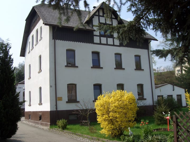 Ferienwohnung Gelenau - im Zentrum des Erzgebirges