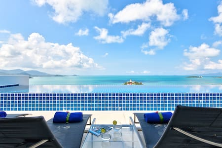Luxury Villa with Pool & Ocean View - Koh Samui  - วิลล่า