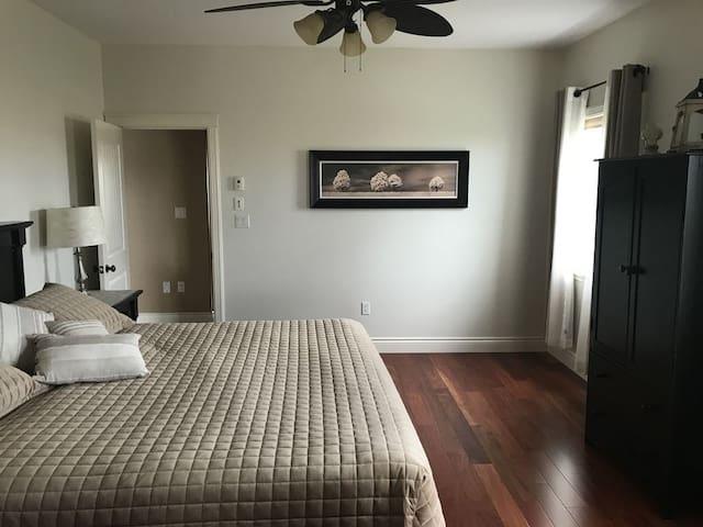 Suite A Master bedroom