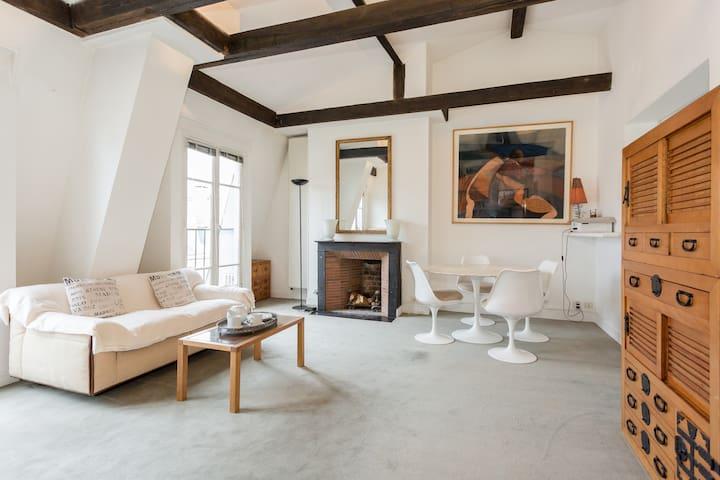 Romantic Paris under the roof - Paris - Apartamento