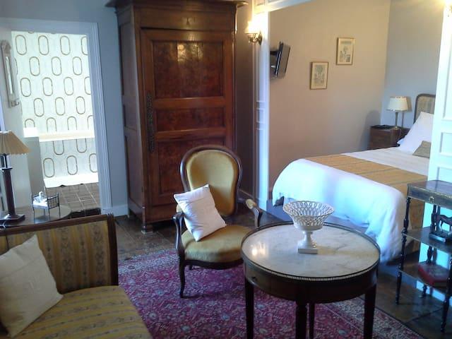 Le Logis de RUELLE, chambre jaune - Ruelle-sur-Touvre - Bed & Breakfast