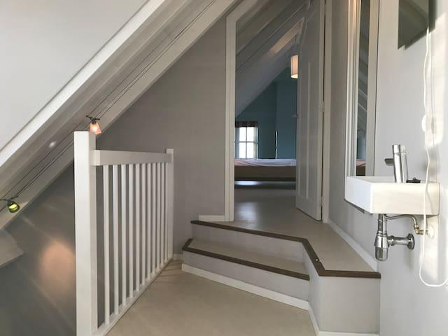 Overloop met 4 slaapkamers