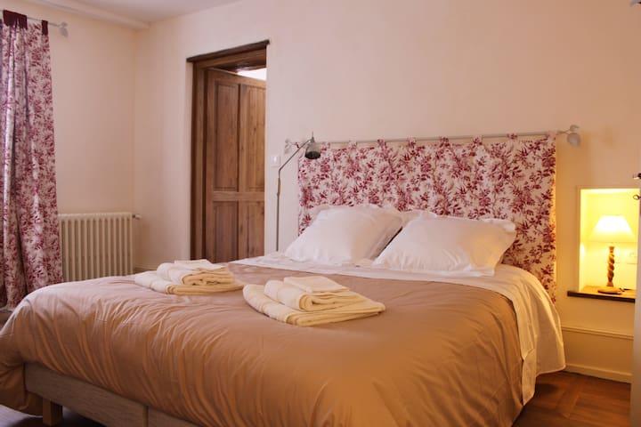 Chambre d'hôtes de charme : Pressoir de l'abbaye - Vézelay - Oda + Kahvaltı