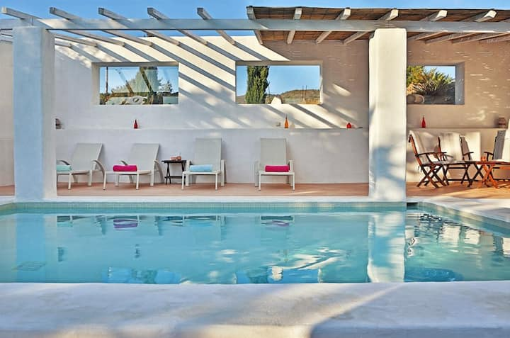 HEATED Pool villa in South Rhodes, Lahania