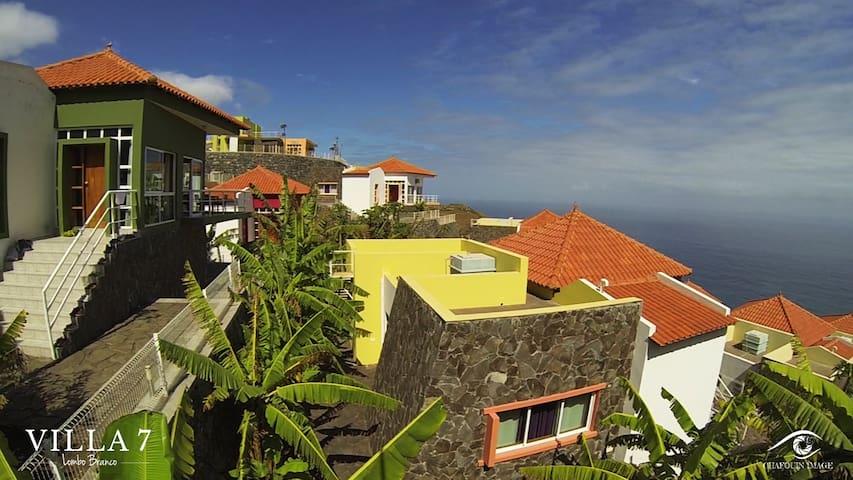 Villa 7 à Santo Antao au Cap Vert - Lambo Branco - Villa