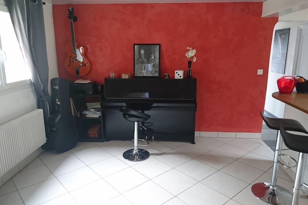 Espace Piano -Guitare