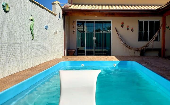 Casa de praia em cabo frio com piscina 2