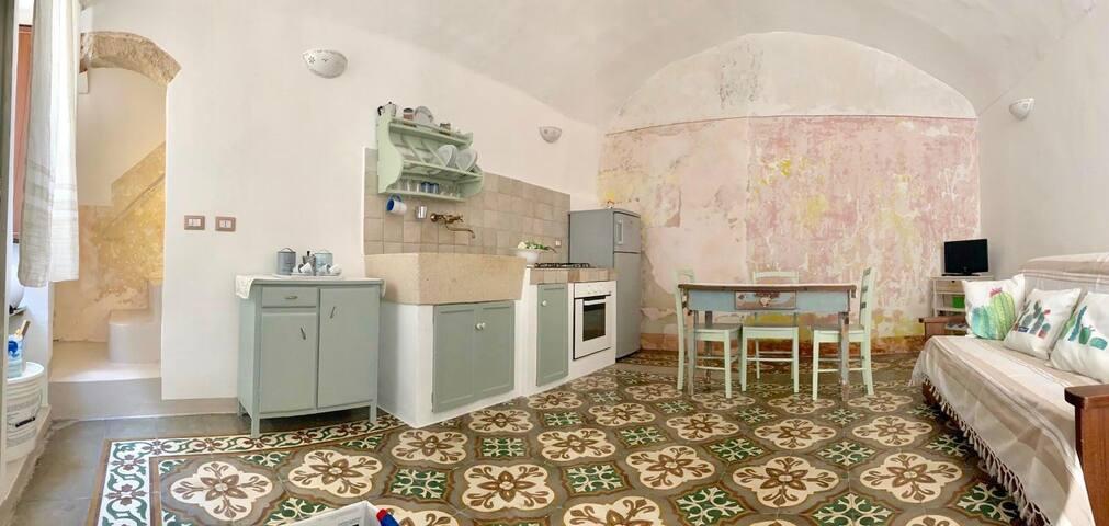 Casetta Milena nel centro storico di Parabita