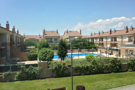 Wonderful apartment with pool - Valladolid - Lejlighed